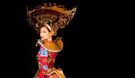Á hậu Kiều Loan gặp sự cố trang phục tại Miss Grand 2019, fan lo lắng